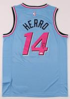 Tyler Herro Signed Heat Jersey (JSA Hologram) at PristineAuction.com