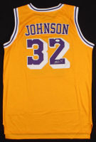 Magic Johnson Signed Lakers Adidas Jersey (JSA COA) at PristineAuction.com
