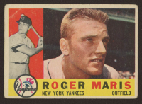 Roger Maris 1960 Topps #377 at PristineAuction.com