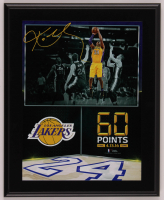 "Kobe Bryant Lakers ""60 Point Finale"" 11x13 Custom Framed Display at PristineAuction.com"
