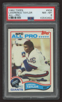 Lawrence Taylor 1982 Topps #434 RC (PSA 8) at PristineAuction.com