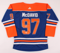 Connor McDavid Signed Oilers Captain Jersey (JSA Hologram) at PristineAuction.com