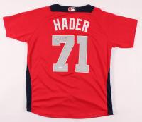 Josh Hader Signed National League All-Star Jersey (JSA Hologram) at PristineAuction.com