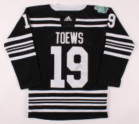 Jonathan Toews Signed Blackhawks Captain Jersey (JSA Hologram) at PristineAuction.com