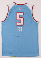 De'Aaron Fox Signed Kings Jersey (JSA Hologram) at PristineAuction.com