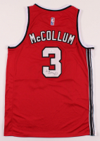 C. J. McCollum Signed Trail Blazers Jersey (JSA Hologram) at PristineAuction.com