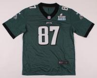 Brent Celek Signed Eagles Super Bowl LII Jersey (JSA COA) at PristineAuction.com