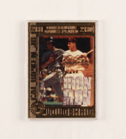 Cal Ripken Jr. & Lou Gehrig LE 23KT Gold Baseball Card with Original Box at PristineAuction.com