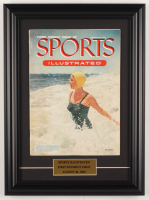 Original Third Issue Sports Illustrated 13x17.5 Custom Framed Magazine from August 30, 1954 at PristineAuction.com