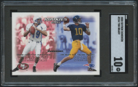 2000 SkyBox Dominion #234 Tom Brady RC / Giovanni Carmazzi RC (SGC 10) at PristineAuction.com