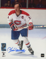 Yvan Cournoyer Signed Canadiens 8x10 Photo (COJO COA) at PristineAuction.com
