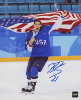 Hilary Knight Signed Team USA 8x10 Photo (COJO COA) at PristineAuction.com