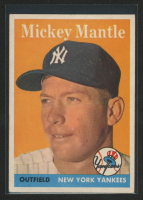 Mickey Mantle 1958 Topps #150 at PristineAuction.com