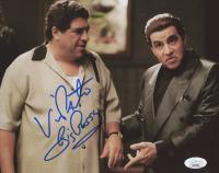 "Vincent Pastore Signed ""The Sopranos"" 8x10 Photo Inscribed ""Big P****"" (JSA COA) at PristineAuction.com"