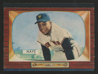 Willie Mays 1955 Bowman #184 at PristineAuction.com