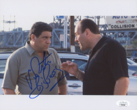 "Vincent Pastore Signed ""The Sopranos"" 8x10 Photo Inscribed ""Big P****"" (JSA COA) at PristineAuction.com"