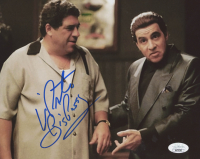 "Vincent Pastore Signed ""The Sopranos"" 8x10 Photo Inscribed ""Big P***y"" (JSA COA) at PristineAuction.com"