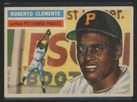 Roberto Clemente 1956 Topps #33 at PristineAuction.com
