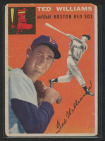 Ted Williams 1954 Topps #1 at PristineAuction.com
