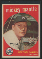 Mickey Mantle 1959 Topps #10 at PristineAuction.com