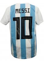 "Lionel Messi Signed Argentina Jersey Inscribed ""Leo"" (Messi COA) at PristineAuction.com"