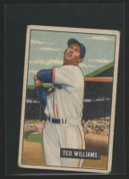 Ted Williams 1951 Bowman #165 at PristineAuction.com