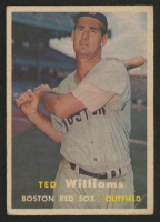 Ted Williams 1957 Topps #1 at PristineAuction.com