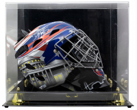 Braden Holtby Signed Capitals Full-Size Goalie Mask with Display Case (Fanatics Hologram) at PristineAuction.com