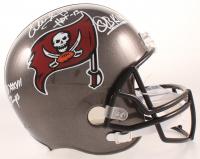 """Warren Sapp Signed Buccaneers Full-Size Helmet Inscribed """"HOF-13"""", """"QB Killa"""" & """"SB XXXVII Champs"""" (Beckett COA) at PristineAuction.com"""