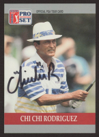 Chi Chi Rodriguez Signed 1990 Pro Set #86 RC (JSA COA) at PristineAuction.com