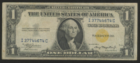 1935-A $1 One Dollars North Africa $1 Gold Seal Silver Certificate Bank Note at PristineAuction.com
