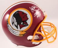 "John Riggins Signed Redskins Full-Size Helmet Inscribed ""SBXVII MVP"" (Beckett COA) at PristineAuction.com"