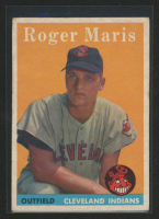 Roger Maris 1958 Topps #47 RC at PristineAuction.com