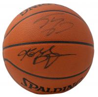 Kobe Bryant & Shaquille O'Neal Signed Official Game Ball Series Basketball (PSA COA & Beckett COA) at PristineAuction.com