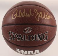 Kareem Abdul-Jabbar Signed NBA Basketball (PSA COA) at PristineAuction.com