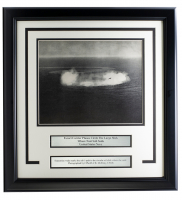 Navy Escort Carrier Planes 17x18 Custom Framed Photo Display at PristineAuction.com
