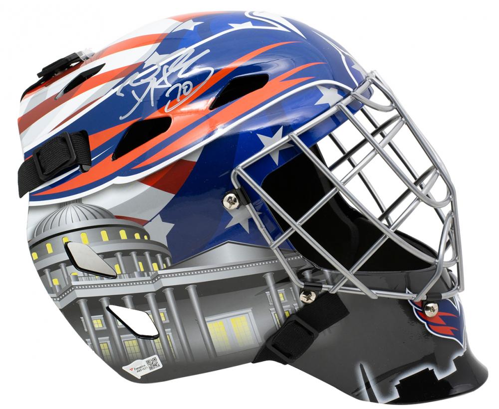 Braden Holtby Signed Capitals Full Size Goalie Mask Fanatics Hologram Pristine Auction