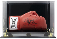 """Manny """"Pacman"""" Pacquiao Signed Everlast Boxing Glove with High Quality Display Case (Beckett COA) at PristineAuction.com"""