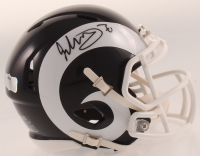 Todd Gurley Signed Rams Speed Mini-Helmet (Radtke COA) at PristineAuction.com