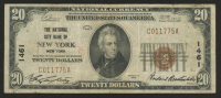 1929 $20 Twenty-Dollar Brown Seal U.S. National Currency Bank Note at PristineAuction.com