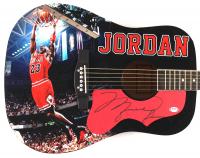 "Michael Jordan Signed 41"" Acoustic Guitar (PSA Hologram) at PristineAuction.com"