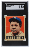 Babe Ruth 1949 Leaf #3 (SGC 1.5) at PristineAuction.com