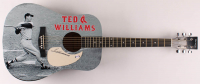 "Ted Williams Signed 41"" Acoustic Guitar (PSA Hologram) at PristineAuction.com"