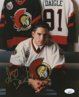Alexandre Daigle Signed Senators 8x10 Photo (JSA COA) at PristineAuction.com
