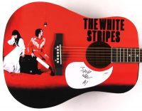 "Jack White Signed 41"" Acoustic Guitar (PSA COA) at PristineAuction.com"