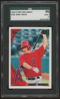 2010 Topps Pro Debut #181 Mike Trout (SGC 9) at PristineAuction.com