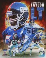 Lawrence Taylor Signed Giants 8x10 Photo (JSA COA) at PristineAuction.com