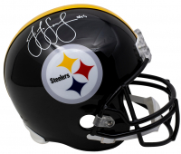 JuJu Smith-Schuster Signed Steelers Full-Size Helmet (Beckett COA) at PristineAuction.com
