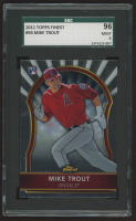 Mike Trout 2011 Finest #94 RC (SGC 9) at PristineAuction.com