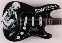 "Brian Setzer Signed 39"" Electric Guitar (PSA COA) at PristineAuction.com"